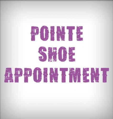 Pointe Shoe bookings